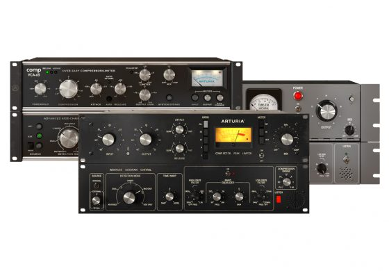 Arturia Comp FET-76, Comp VCA-65, Comp TUBE-STA – test