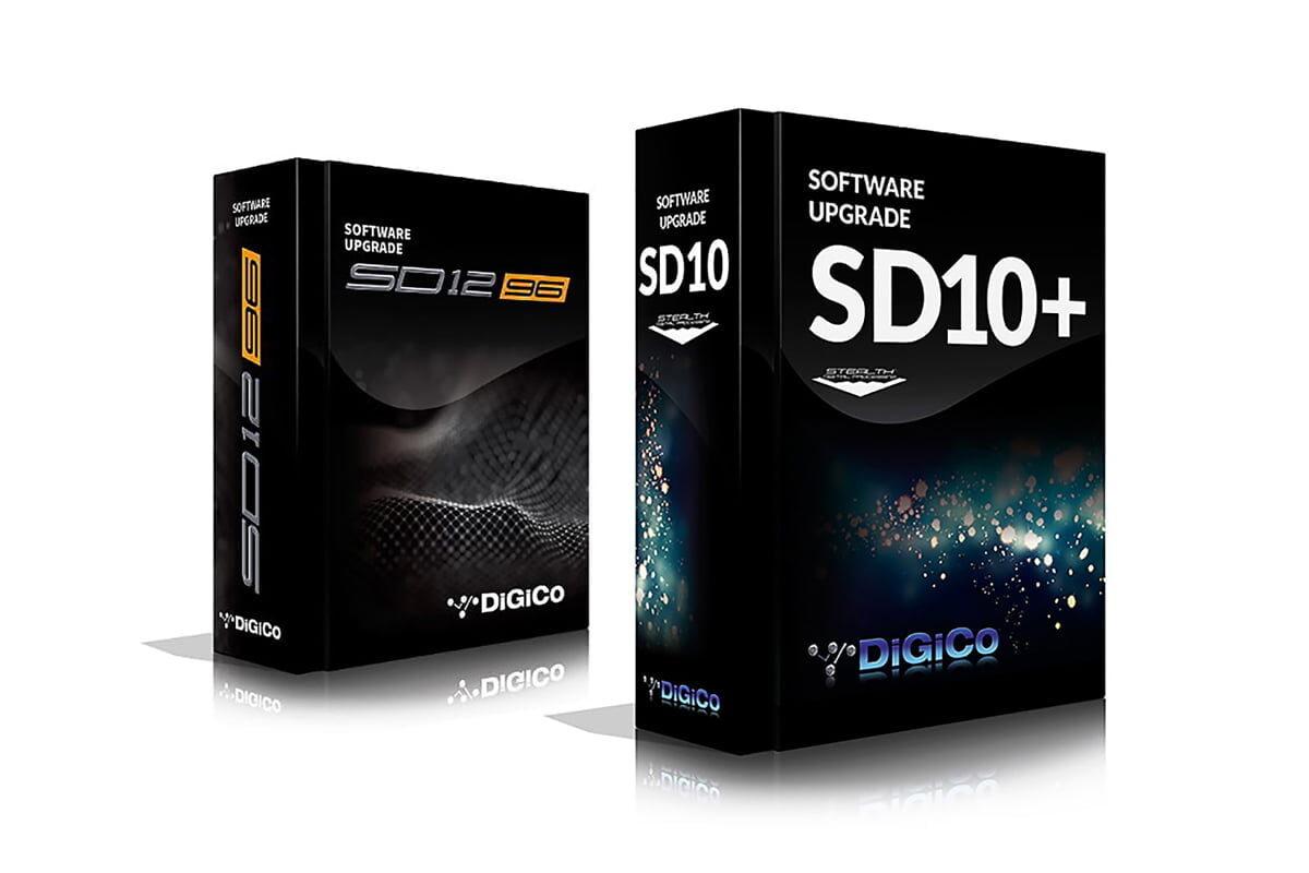 DiGiCo – aktualizacje mikserów SD10 i SD12