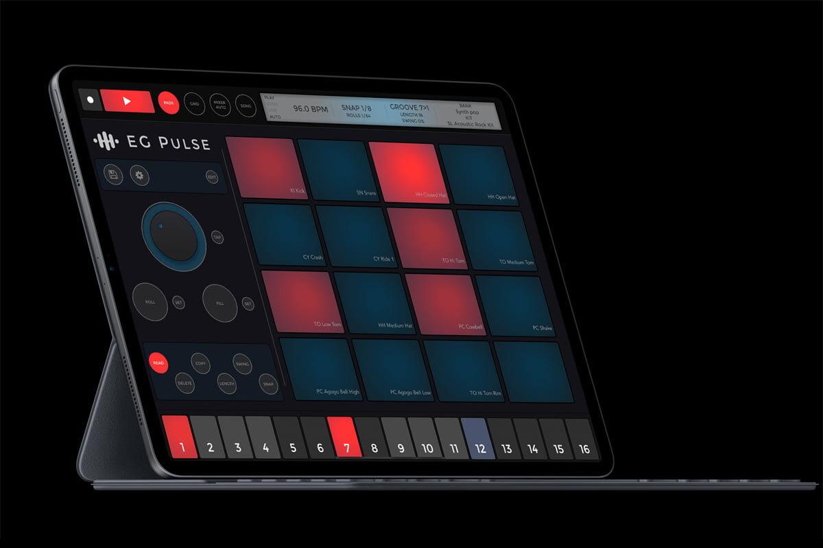 ElliottGarage EG Pulse – automat perkusyjny dla iOS