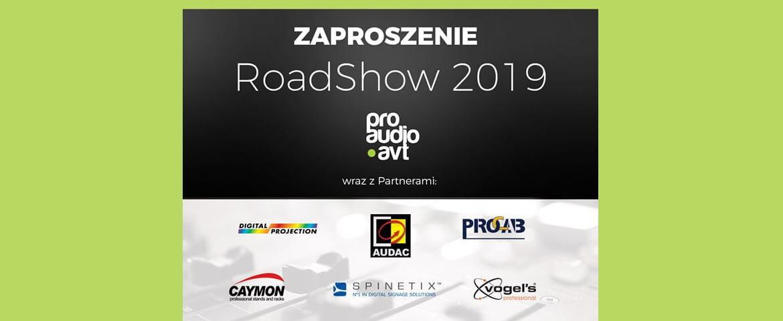 ProAUDIO-AVT zaprasza na RoadShow 2019