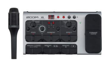 Zoom V6 Vocal Processor – multiefekt wokalny