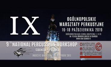 IX Ogólnopolskie Warsztaty Perkusyjne w Gdańsku