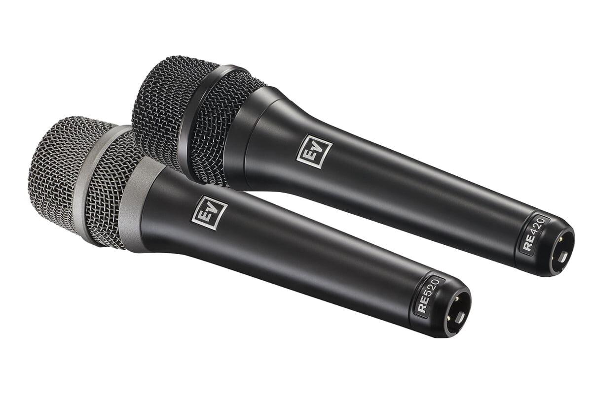Electro-Voice RE420 i RE520 – test mikrofonów wokalnych
