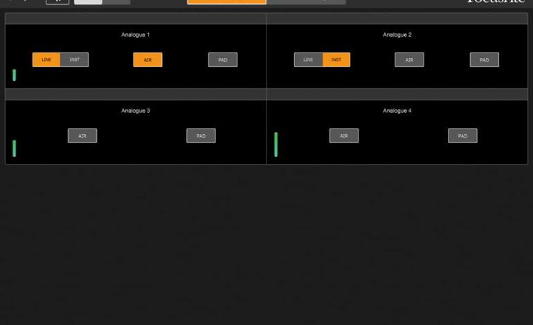 Focusrite Control 01