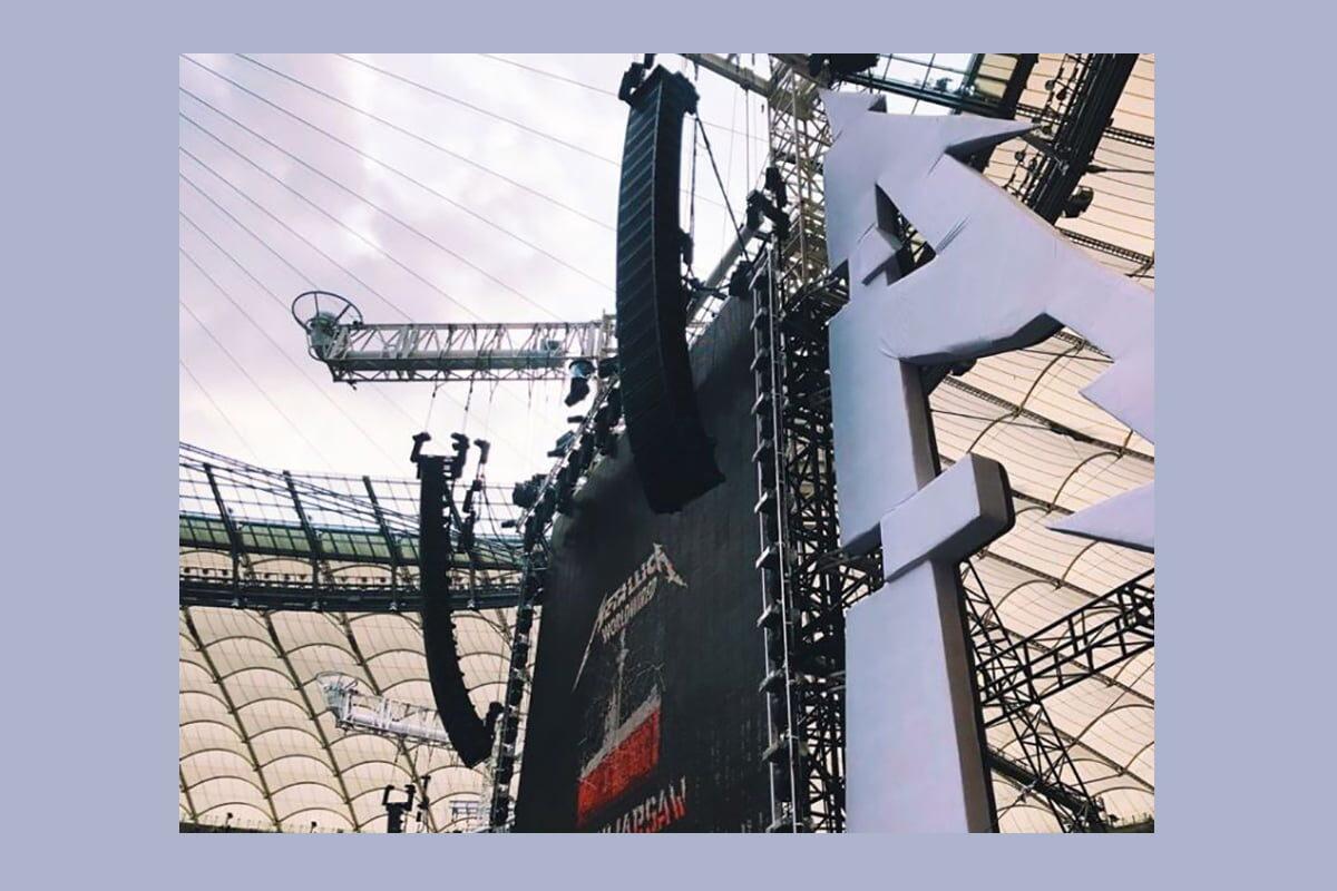 Metallica z Meyer Sound na Stadionie Narodowym