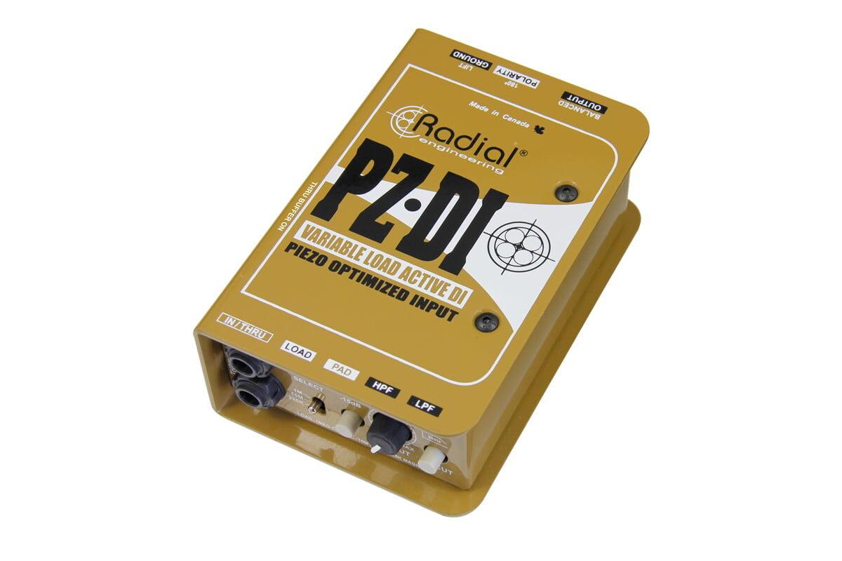 Radial PZ-DI – Orchestral Instrument DI