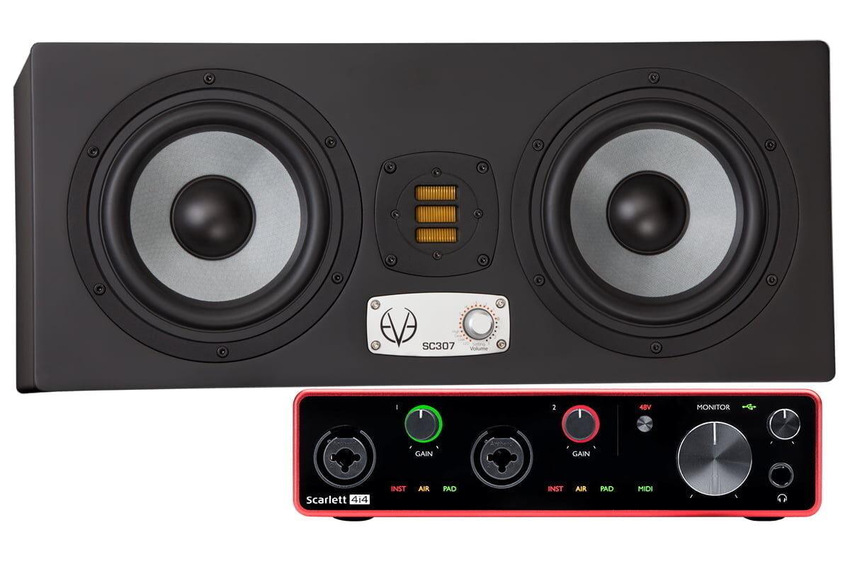 EVE Audio SC307 + Focusrite Scarlett 4i4 – Promocja