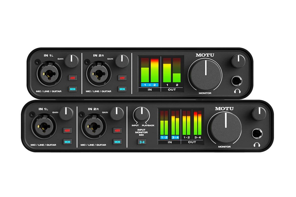 MOTU M2 i M4 – nowe interfejsy audio