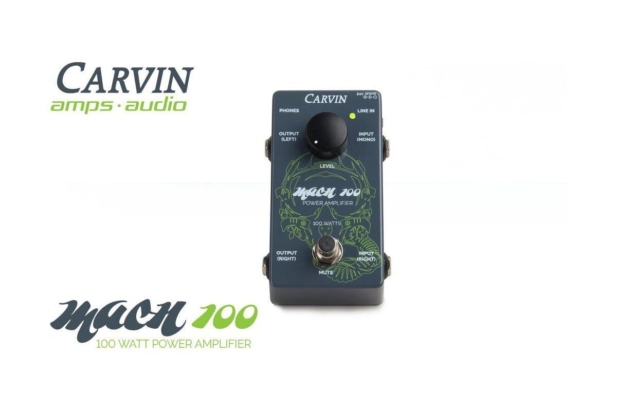 Carvin MACH 100 – gitarowy wzmacniacz mocy