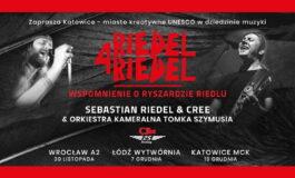 "Rusza trasa koncertowa ""Riedel 4 Riedel"""