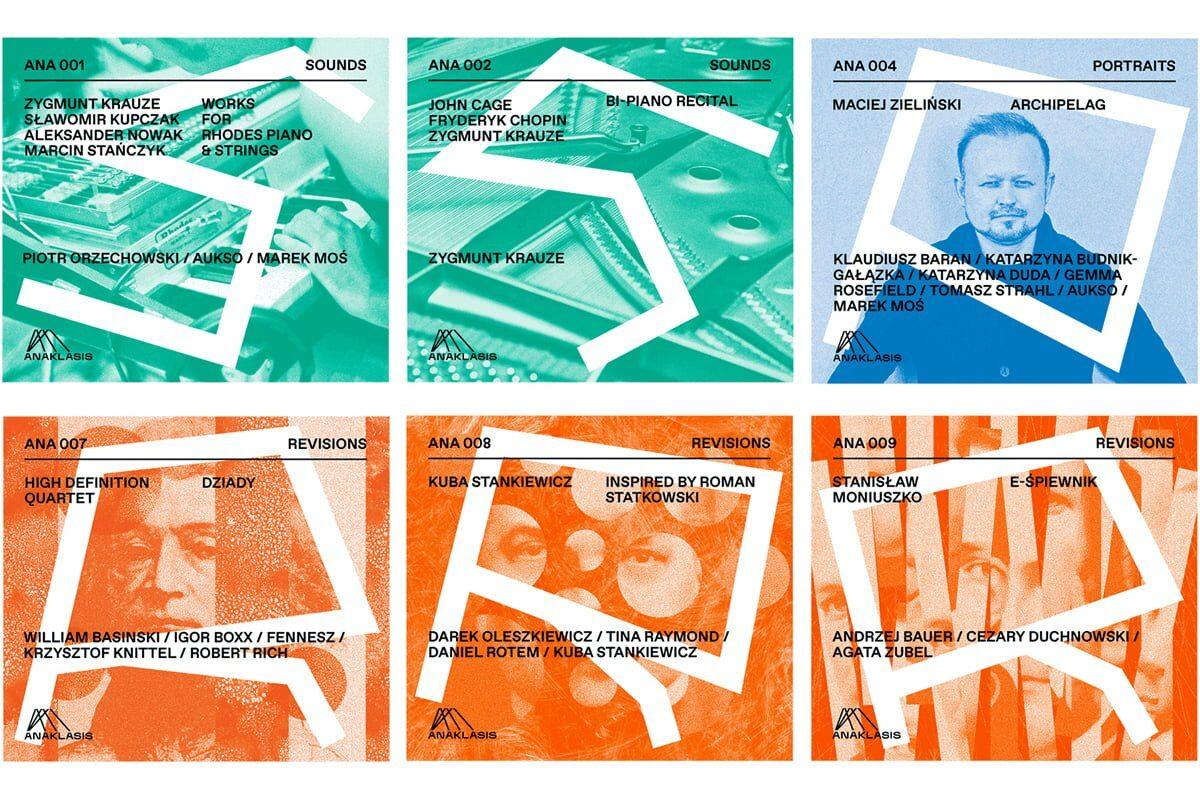 Płyty z katalogu ANAKLASIS w dystrybucji Universal Music Polska