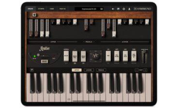 IK Multimedia Hammond B-3X w wersji na iPada