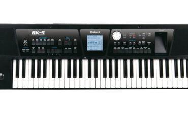 Roland BK-5 – test keyboardu