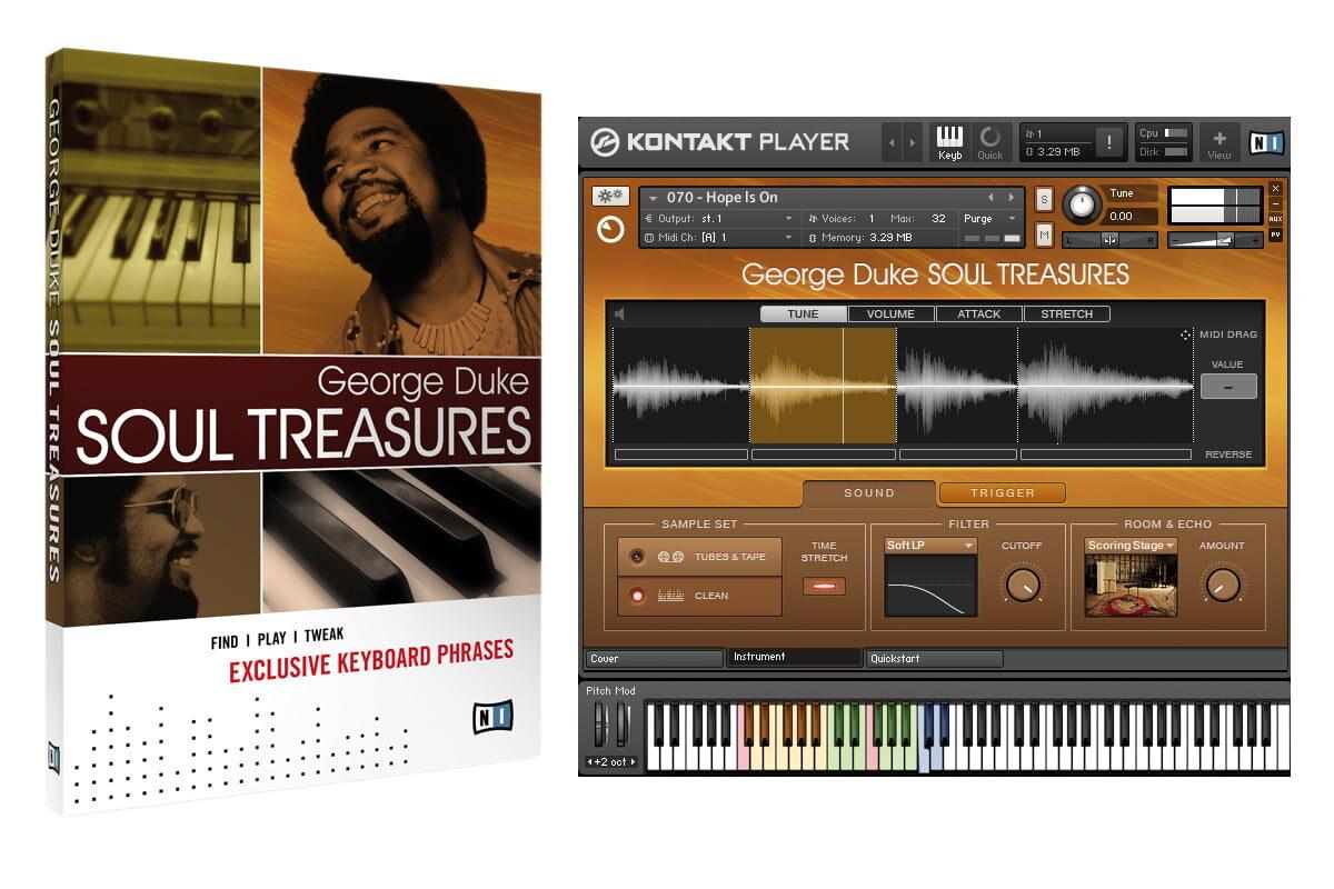 Native Instruments George Duke Soul Treasures – test