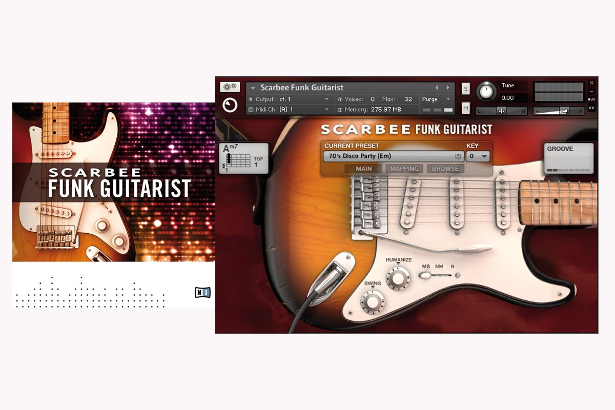 Native Instruments Scarbee Funk Guitarist – test