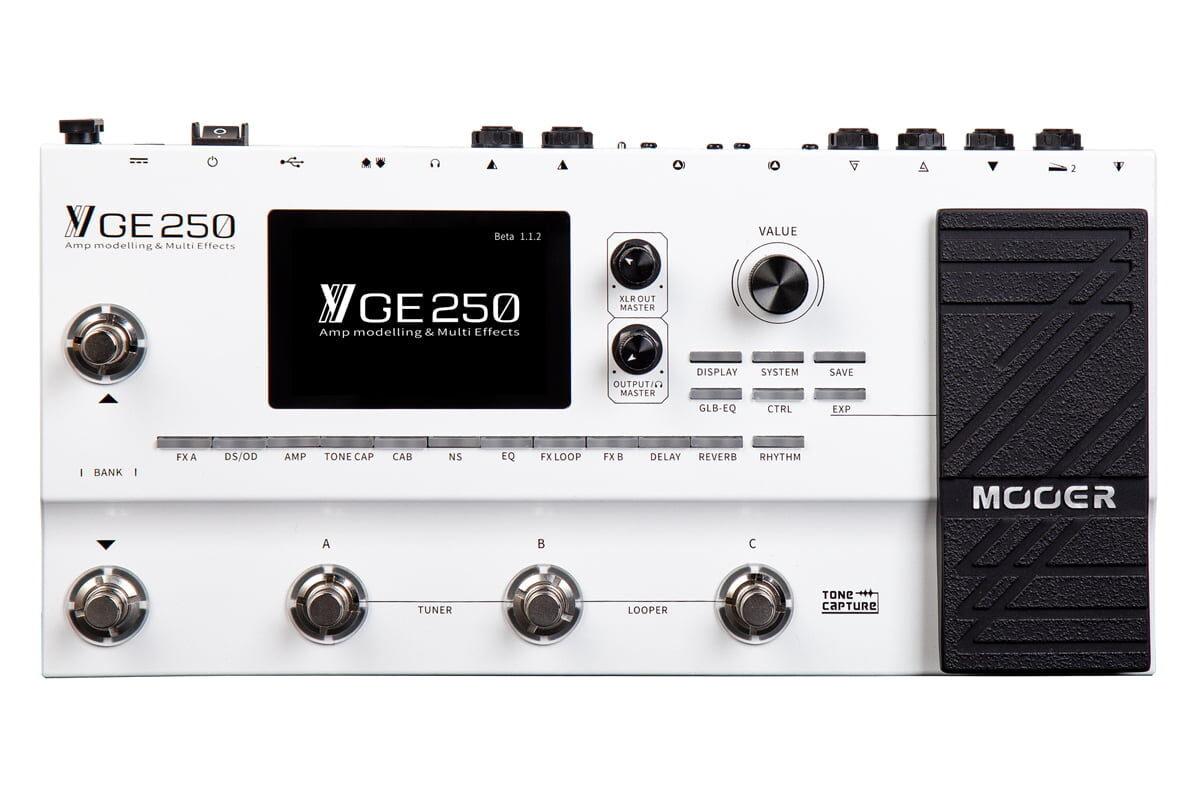 Mooer GE250 – nowy multiefekt gitarowy