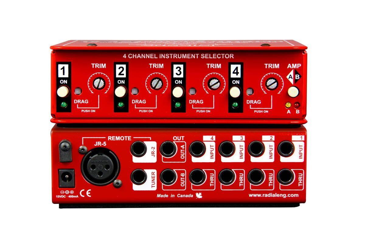 Radial JX-42 – switcher dla gitarzystów i basistów