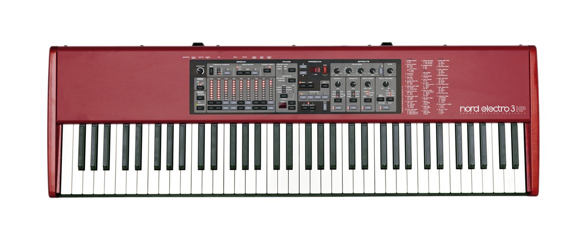 Nord Electro 3HP – test pianina scenicznego