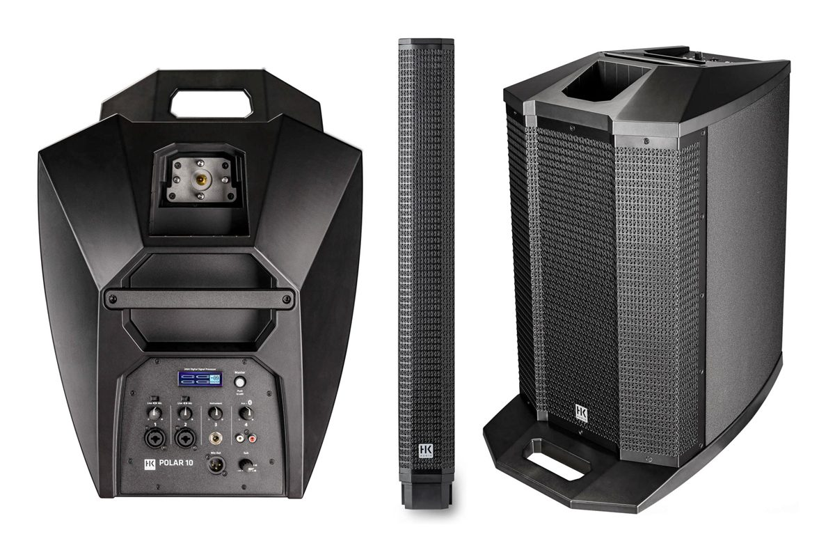 HK Audio POLAR 10 – przenośny system PA