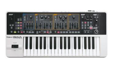 Roland GAIA SH-01 – test syntezatora
