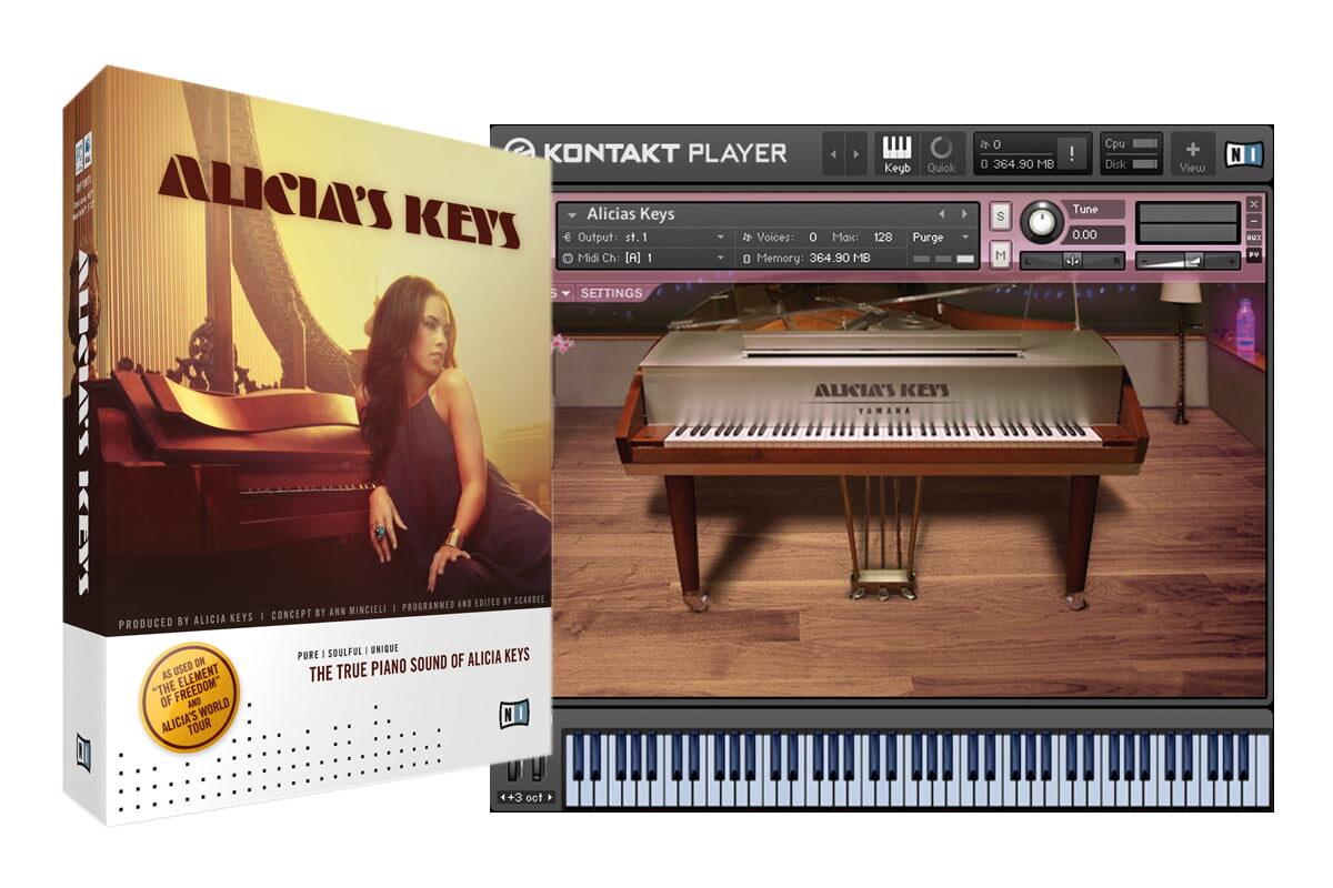 Native Instruments Alicia's Keys – test instrumentu wirtualnego