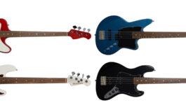 Gitary basowe z logo Ashdown