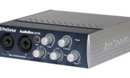 PreSonus AudioBox 22VSL – test interfejsu audio