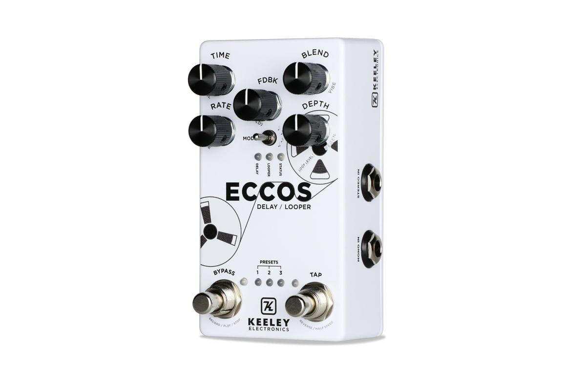 ECCOS – Delay / Looper od Keeley Electronics