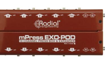 Radial Exo-Pod – pasywny splitter
