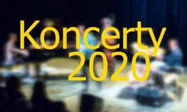 Rok 2020 – koncerty, festiwale…