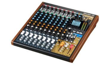 Tascam Model 12 – nowy mikser/rejestrator audio
