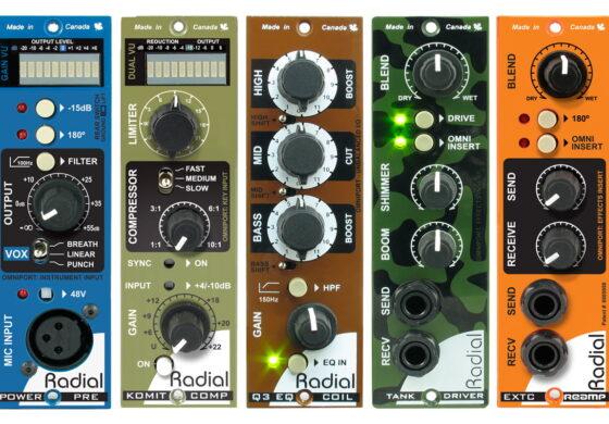 Radial Engineering – moduły w formacie 500