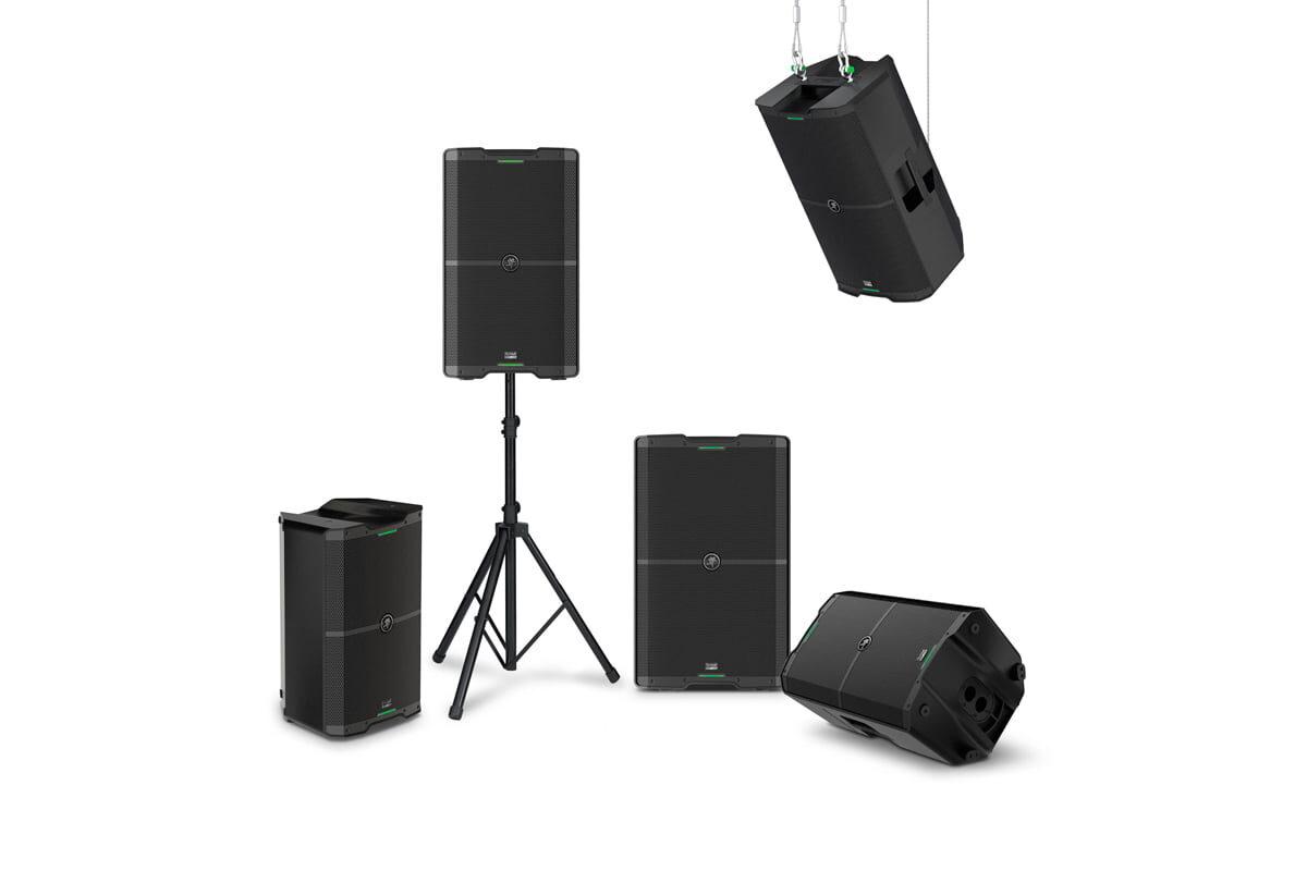 Mackie SRM V-Class – nowe zestawy głośnikowe