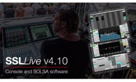 Solid State Logic – nowe oprogramowanie dla konsolet SSL Live