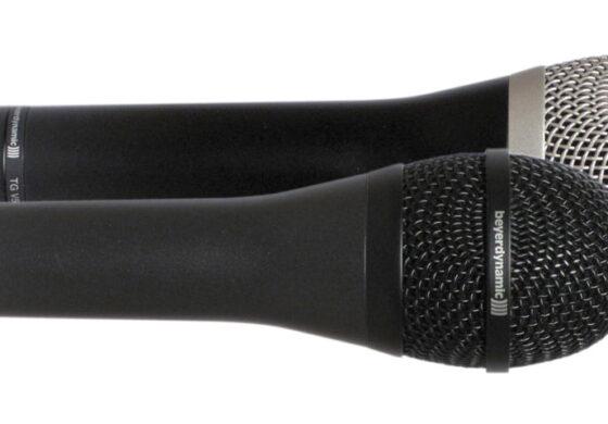 Beyerdynamic TG V50d i TG V70d – test mikrofonów