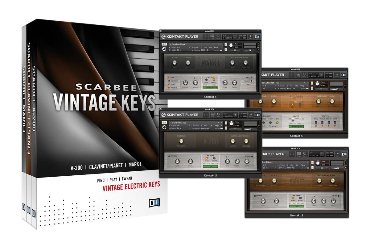 Native Instruments Scarbee Vintage Keys – test