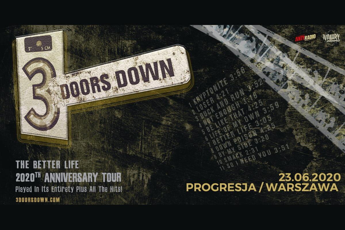 3 Doors Down w Warszawie