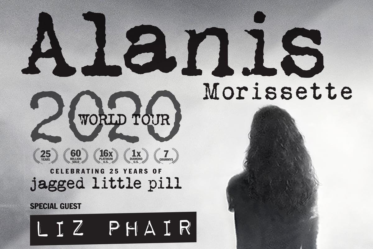 Alanis Morissette wystąpi w Warszawie