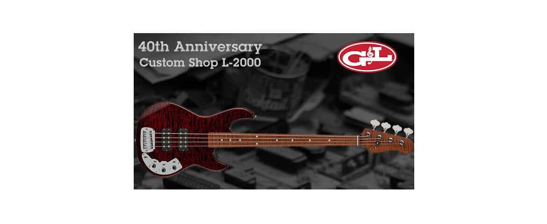G&L 40th Anniversary Custom Shop L-2000