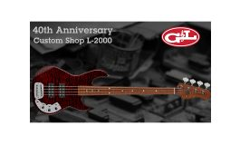 G&L 40th Anniversary Custom Shop L-2000