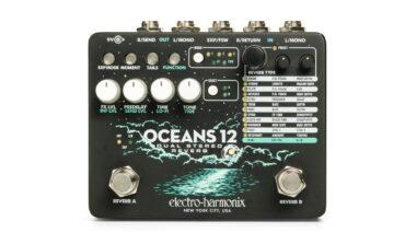 Electro-Harmonix Oceans 12 – Dual Stereo Reverb