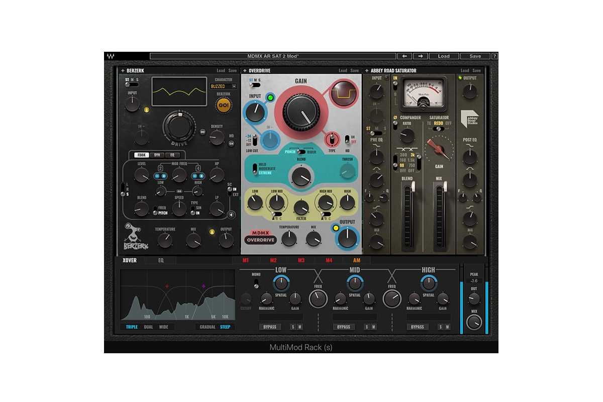 Waves Audio MultiMod Rack