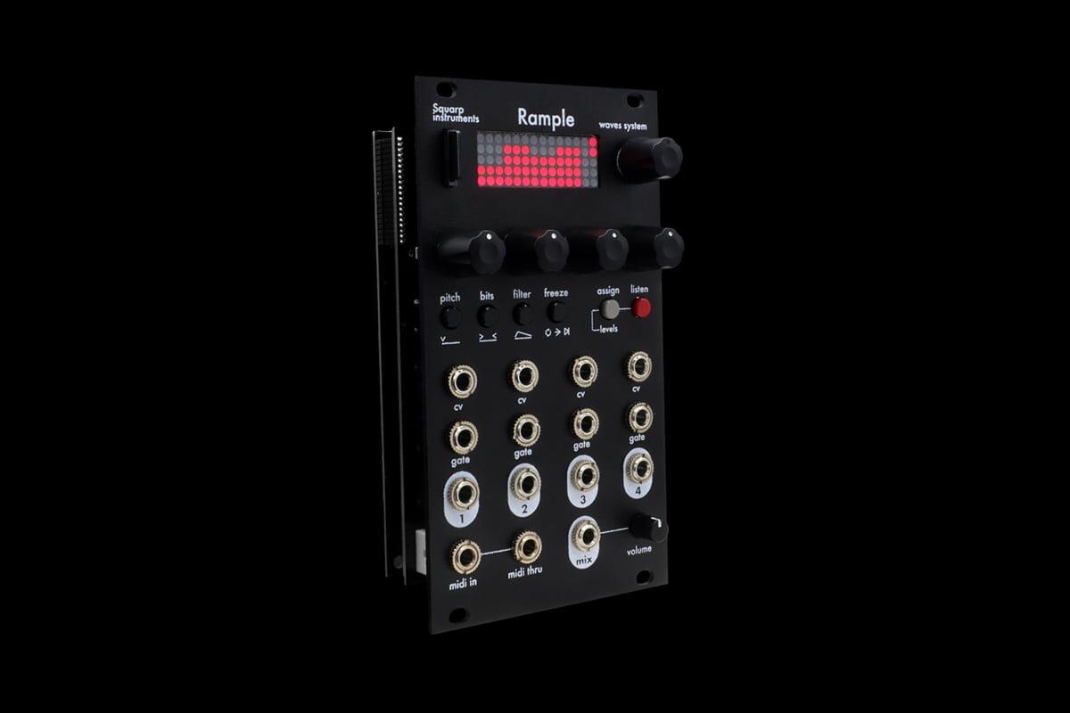 Squarp Instruments Rample – nowy moduł Eurorack