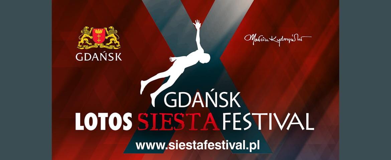 Nowy termin Gdańsk LOTOS Siesta Festival 2020