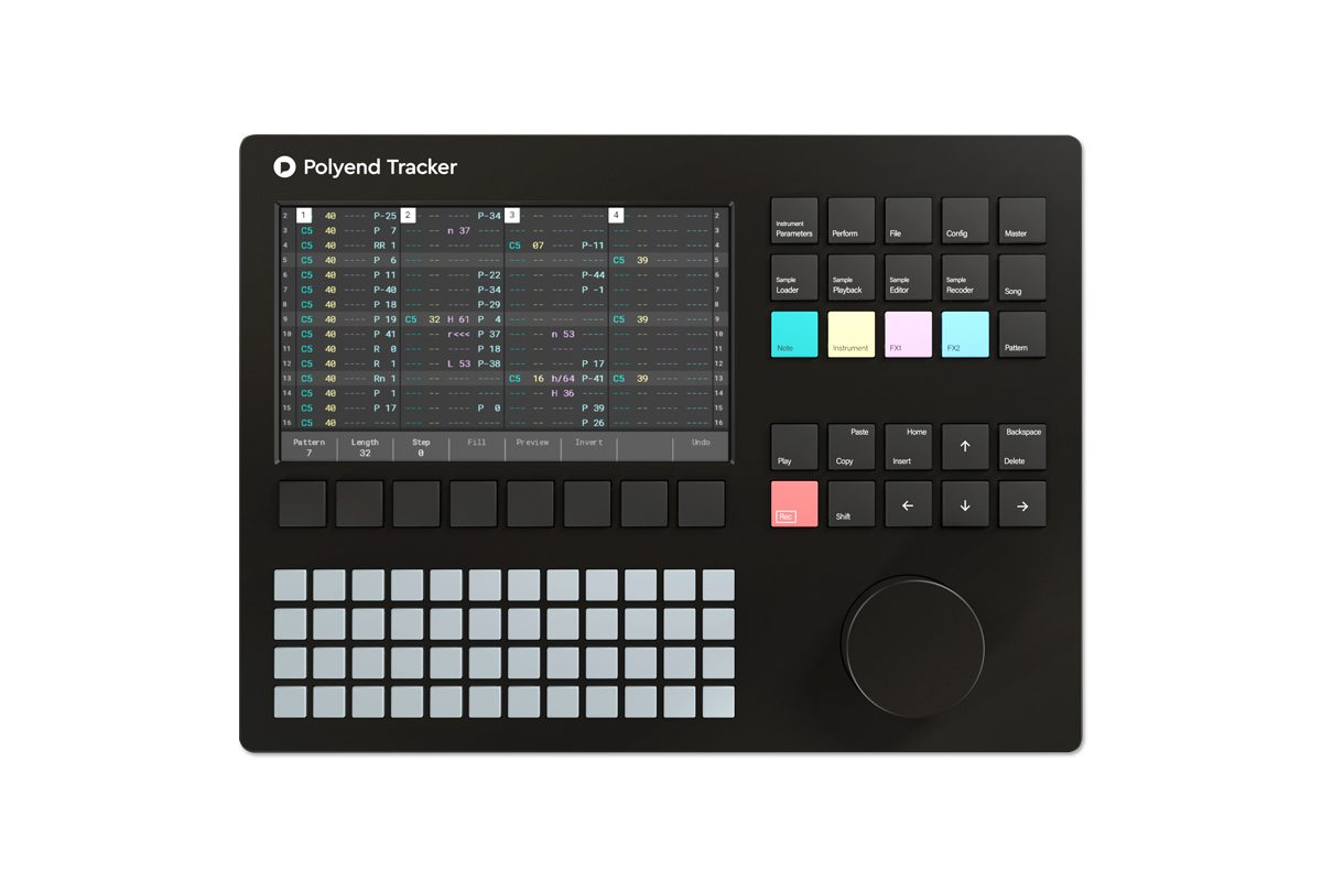 Polyend Tracker oficjalnie zaprezentowany