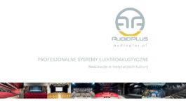 Audio Plus – nowy katalog instalacji w obiektach kultury