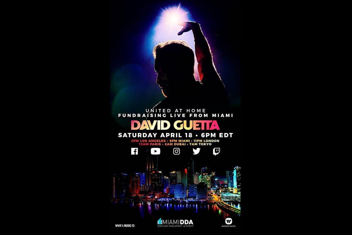 #DontStopTheMusic: David Guetta na żywo