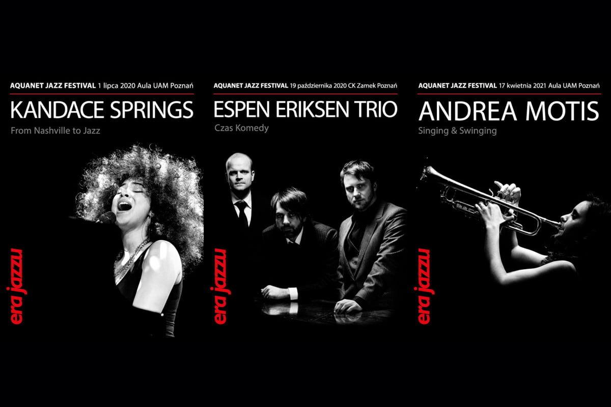 Era Jazzu – Aquanet Jazz Festival – nowe terminy