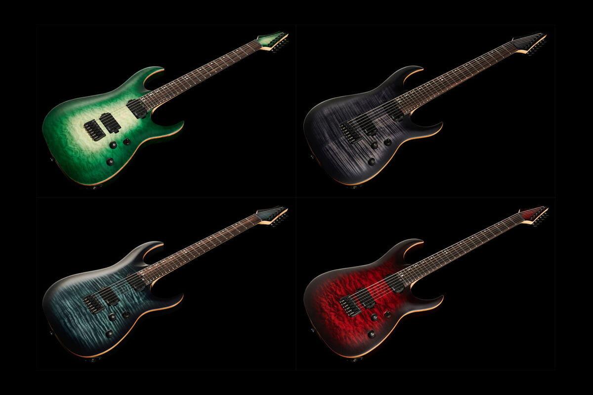 Harley Benton Amarok – gitary elektryczne dla metalowców