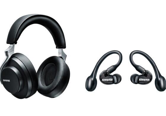 Shure AONIC 50 i AONIC 215 – słuchawki bezprzewodowe